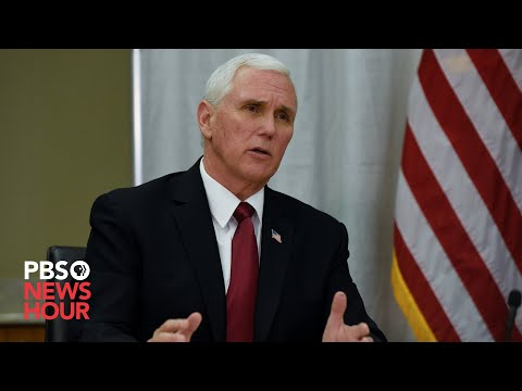 PBS NewsHour: WATCH LIVE: Pence participates in business roundtable on reopening the economy in Pennsylvania