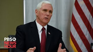 WATCH LIVE: Pence participates in business roundtable on reopening the economy in Pennsylvania