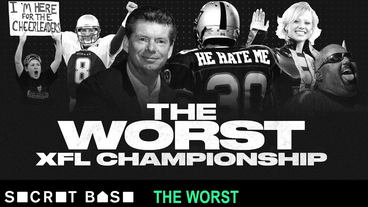 The only XFL championship was also the worst