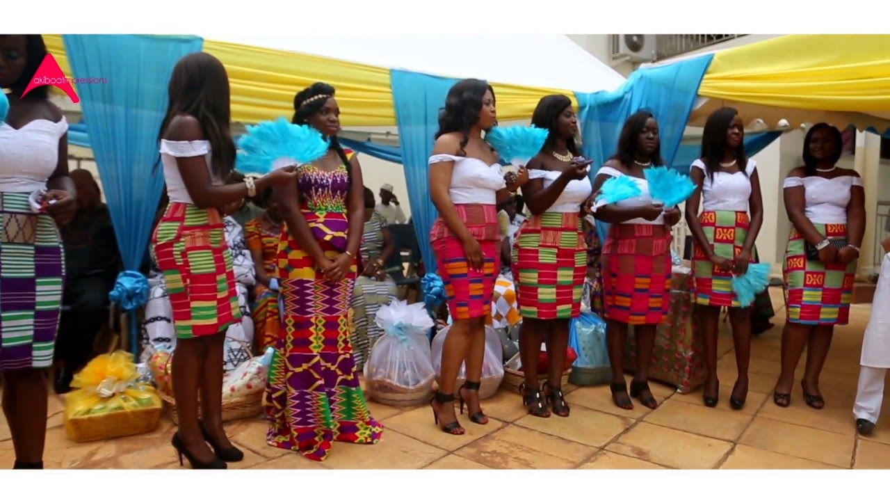 Traditional Wedding Ghana Highlights Between Stephen Joana You