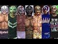 The Evolution Of Rey Mysterio Entrances ( Wrestlemania XIX To WWE 2K15 )