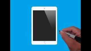 How to Draw an iPad