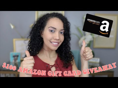 $100 AMAZON GIFT CARD GIVEAWAY + ANSWERING YOUR QUESTIONS ABOUT YOUTUBE