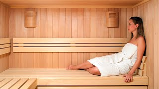 Repeat youtube video BENEFICIOS DEL SAUNA | PARA QUE SIRVE EL SAUNA