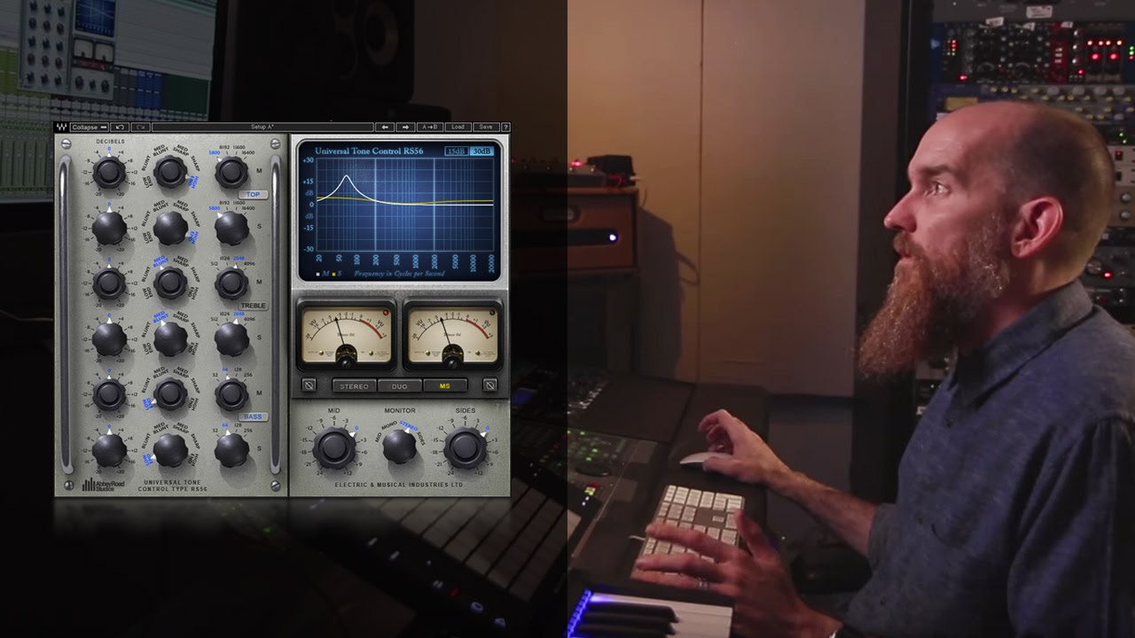 Mid Side Eq On Vocals Using The Abbey Road Rs56 Plugin