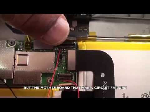 Kindle Fire HD 8.9 charging problem: battery not charging fully USB/charge circuit repair