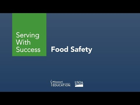 Serving with Success - Food Safety