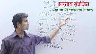 Gk polity - History Of Indian constitution ( भारतीय संविधान इतिहास) Brief Knowledge