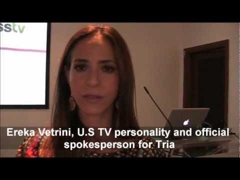 Ereka Vetrini for Tria Laser Hair Removal