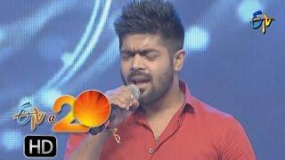 Malavika,Revanth Performance - Bommani Geesthe Song in Nizamabad ETV @ 20 Celebrations