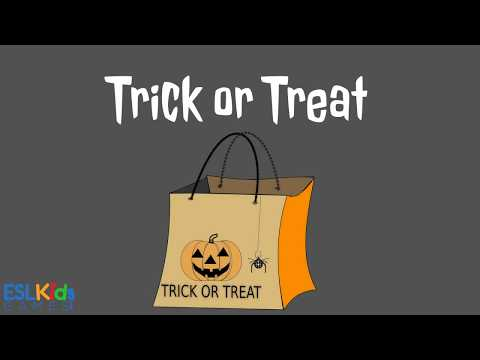 ESL Halloween Game: Trick Or Treat