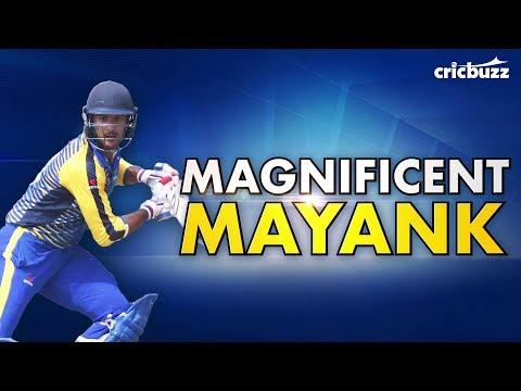 Mayank Agarwal's unbelievable domestic season