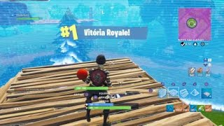 "Fortnite-Battle Royale-11 kills solo playing with the Skin ""rascal"""