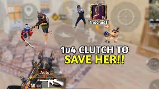 She Got Knocked So I Killed Everyone | Clutch Highlights | Pubg Mobile