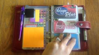 Filofax Personal Malden as a Planner/Wallet