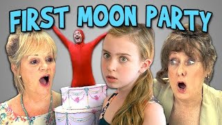Elders React to First Moon Party