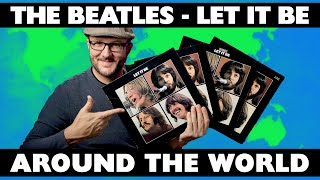 The Beatles LET IT BE - 1st Vinyl Pressings From Around the World