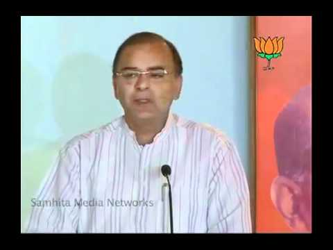 National Executive Meeting of BJP Investor Cell: Sh. Arun Jaitley: 08.05.2011