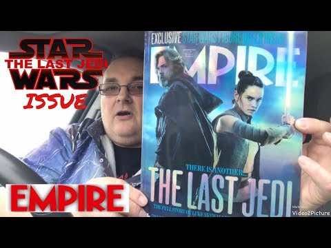 EMPIRE magazine Star Wars The Last Jedi - mini Out & About