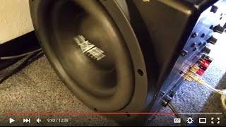 subwoofer replacement driver+passive radiator repair