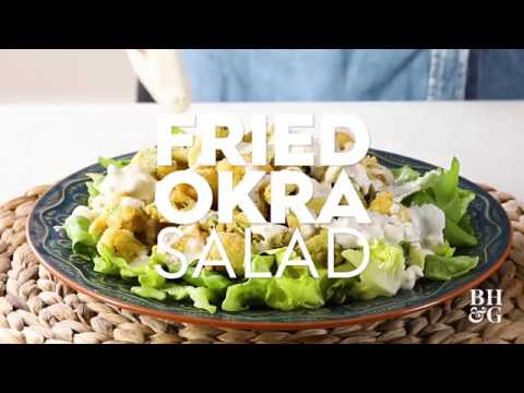 Fried Okra Salad | Cooking: How-To | Better Homes & Gardens
