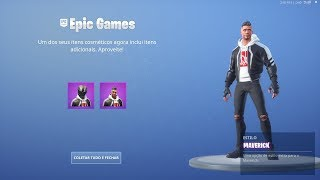 """SKIN """"MAVERICK"""" HAS WON BIKER STYLES WITH AND WITHOUT A HELMET! Fortnite"""