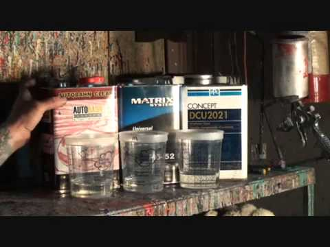 Automotive Clear Coat-Which One's The Best!-PPG-Matrix-Or The Other Guy!