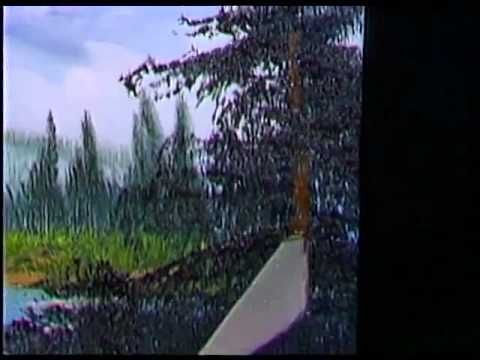 bob-ross---gebirgswasserfall---malerei-video
