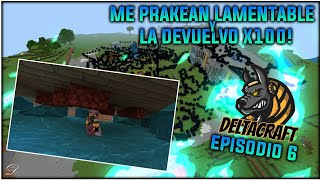 DELTACRAFT #6 serie técnica! 20 YouTubers de Minecraft bedrock_ la primera gran prank!