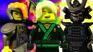 LEGO NINJAGO MOVIE - PART 1 - 6 COMPLETE SERIES