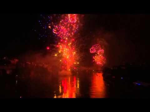 Bundesfeier 2015: Grosses Feuerwerk Basel (volle Länge/HD)