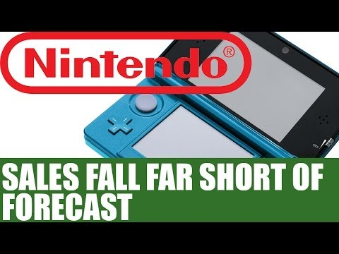Nintendo News - 3DS & Wii U Sales Figures Fall Short Of Forecast Margins - $336m Loss Expected