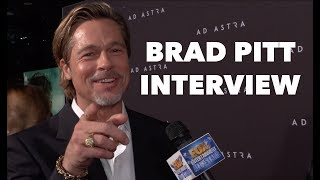AD ASTRA: Brad Pitt Fun Interview