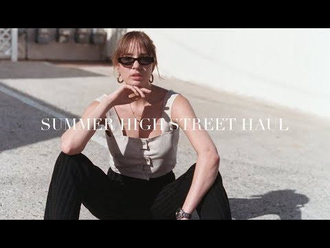 Summer High Street Haul | Topshop, Weekday, ASOS, & Other Stories