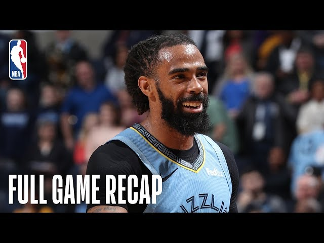 MAGIC vs GRIZZLIES | Mike Conley Propels Memphis Late | March 10, 2019