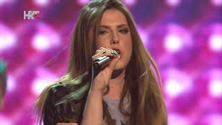 "Sara: ""You Shook Me All Night Long"" - The Voice of Croatia - Season1 - Live4"