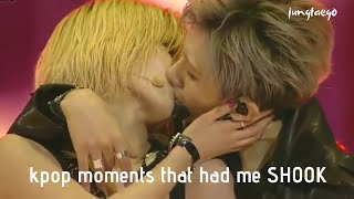 kpop moments that had me shook (part 1)