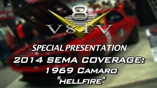 2014 SEMA Coverage:  Mark Stielow Hellfire Camaro Video V8TV