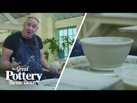 How-to-make-a-pottery-bowl-in-under-3-minutes-Mini-Masterclass-The-Great-Pottery-Throw-Down