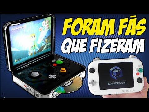 VIDEOGAMES PORTÁTEIS CRIADOS POR FAS QUE RODAM JOGOS DO GAMECUBE