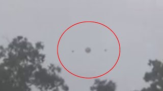 UFO Encounter Over Houston During Storm | Latest UFO Sightings