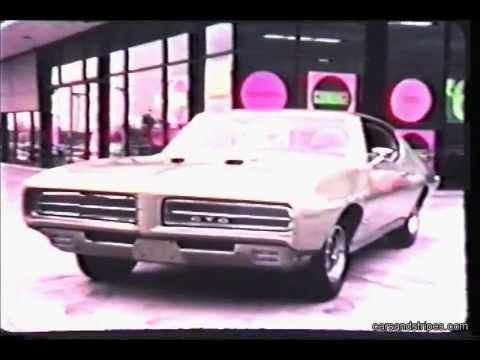1969 Pontiac Full Line TV Commercial