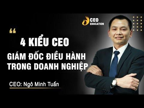 4 Kiểu CEO - Giám đốc điều hành trong doanh nghiệp | Học viện CEO Việt Nam