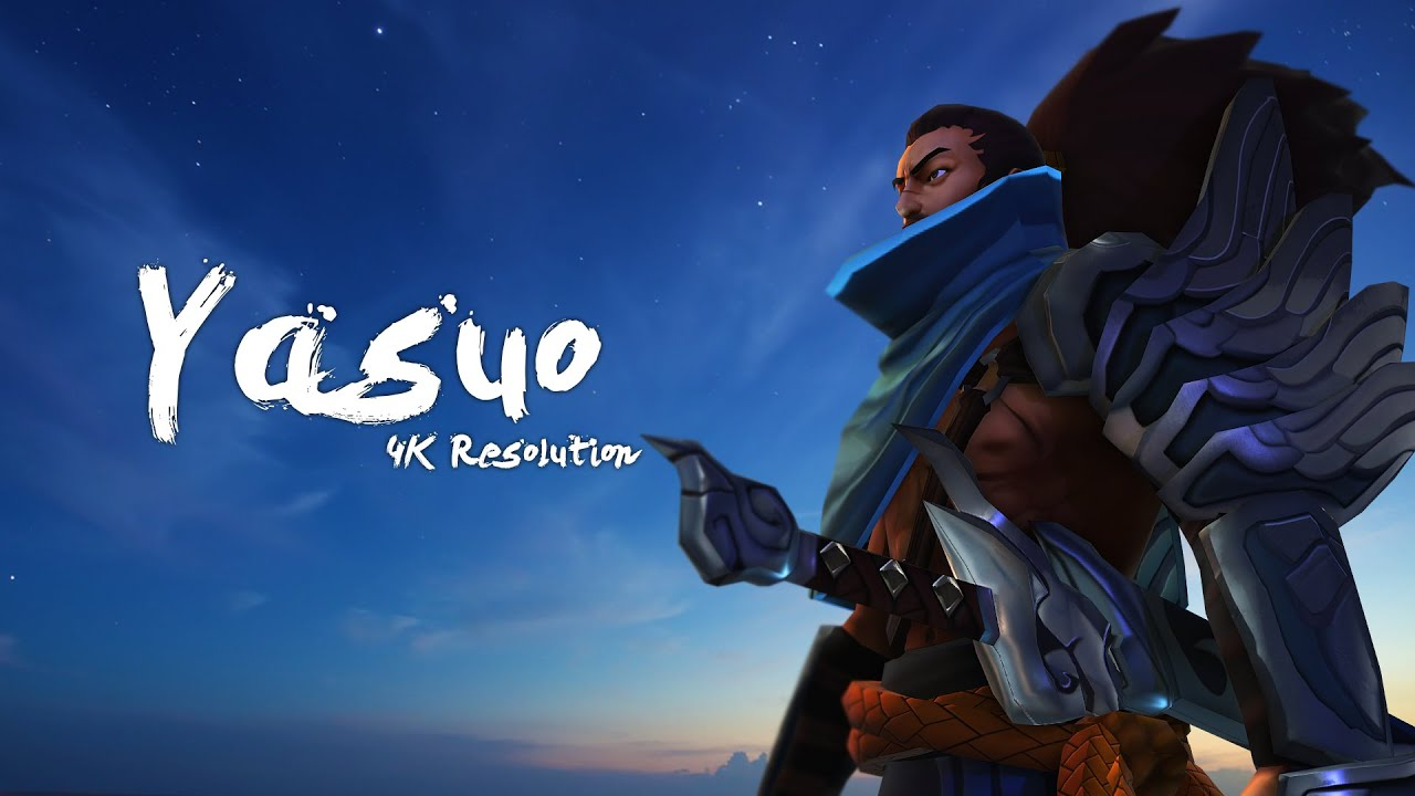 League Of Legends Yasuo 4k Resolution Youtube