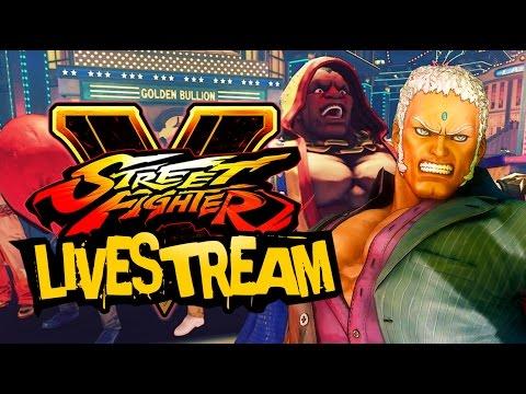 Street Fighter V - Cinematic Story Mode Stream
