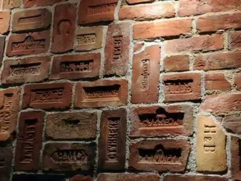 стена фото лофт