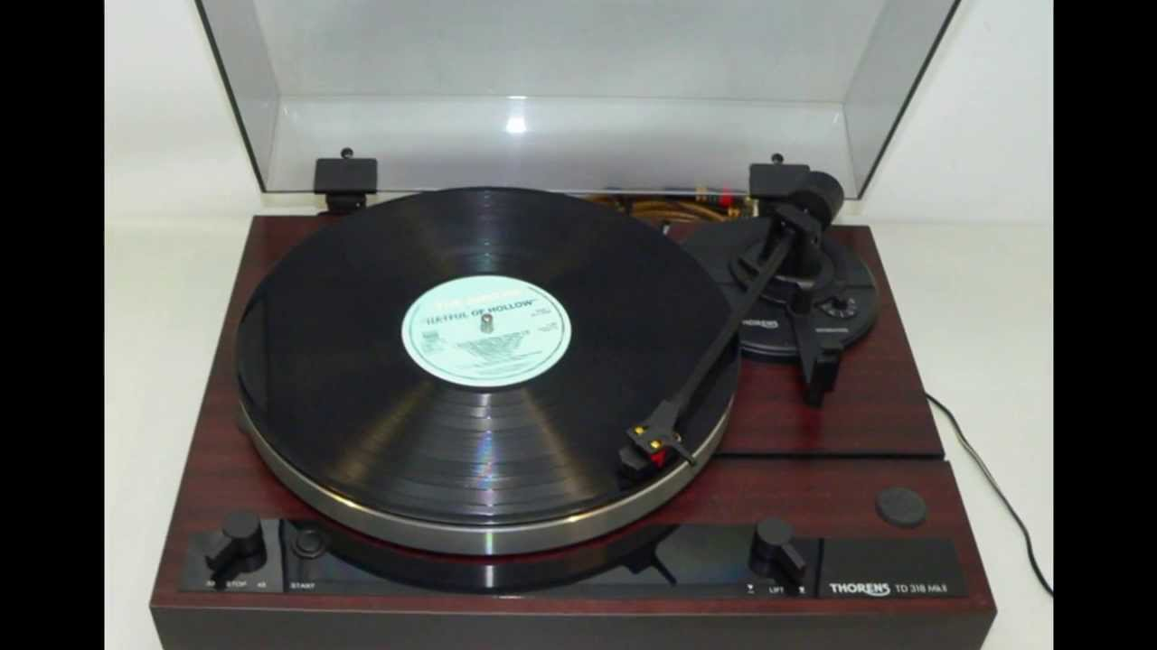 thorens td 318 phono turntable youtube. Black Bedroom Furniture Sets. Home Design Ideas