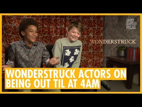 Wonderstruck   Oakes Fegley and Jaden Michael