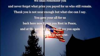 "Honoring The Fallen From ""Operation Enduring Freedom""September 2012"
