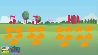 Learning math 1 to 10 for kids with KidSmart Learning